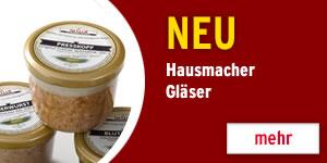 Hausmacher Gläser